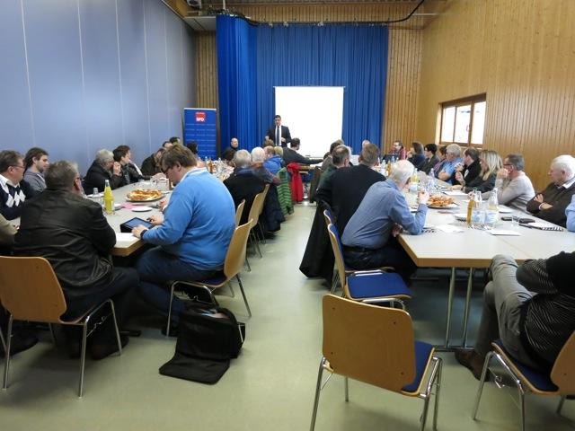 Funktionärskonferenz in Bubenheim
